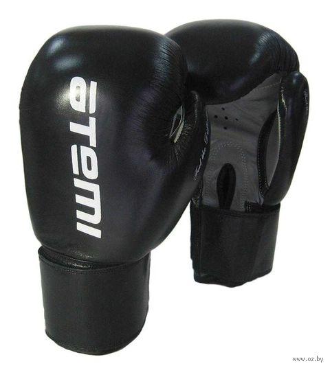 Перчатки боксёрские LTB19009 (10 унций; чёрные) — фото, картинка