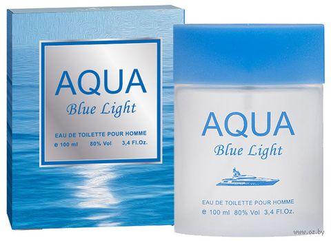 """Туалетная вода для мужчин """"Aqua Blue Light"""" (100 мл) — фото, картинка"""