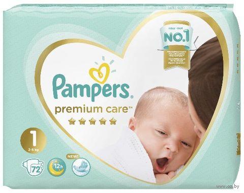 "Подгузники ""Premium Care Newborn"" (2-5 кг; 72 шт.) — фото, картинка"